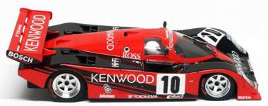 BRM 002 Porsche 962C Kenwood black/red 1/24 scale