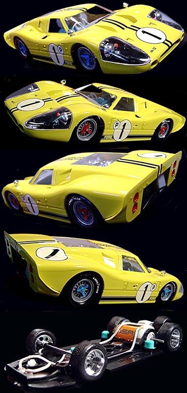 NSR 1022 Ford MkIV, 1967, yellow.