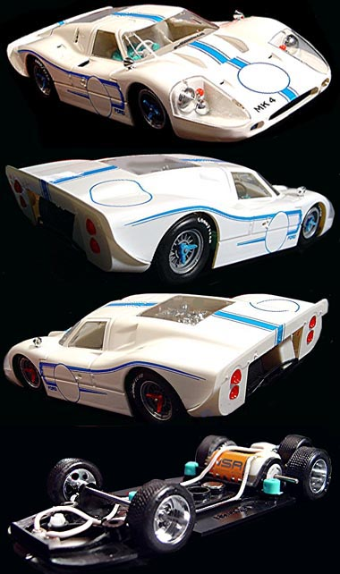 "NSR 1024 Ford MkIV, 1967, ""presentation car"""