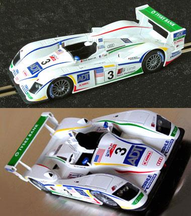 LeMans Miniatures LM132009KP Audi R8, LeMans 2006 PAINTED KIT