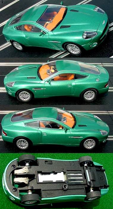 Carrera 25700 Aston Martin Vanquish, British racing green
