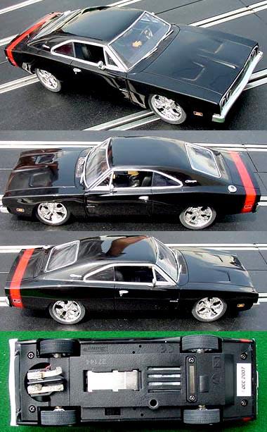 Carrera 27144 Dodge Charger black road car