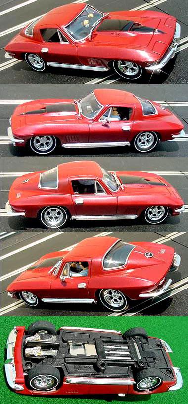 Carrera 27151 Corvette red road car