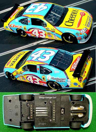 Carrera 27221 Dodge COT, #43 Bobby Labonte