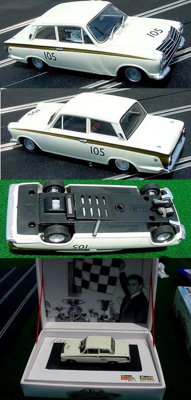 Revell-Monogram 80-8398 Ford Cortina, Jim Clark