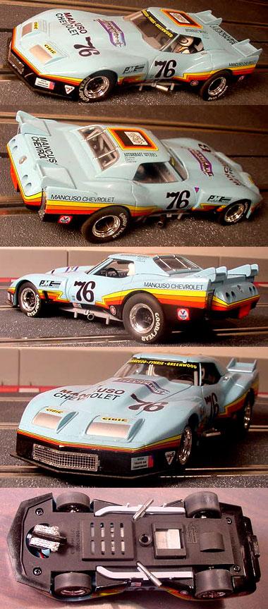 Monogram 85-4864 Greenwood Corvette, Mancuso Chevrolet