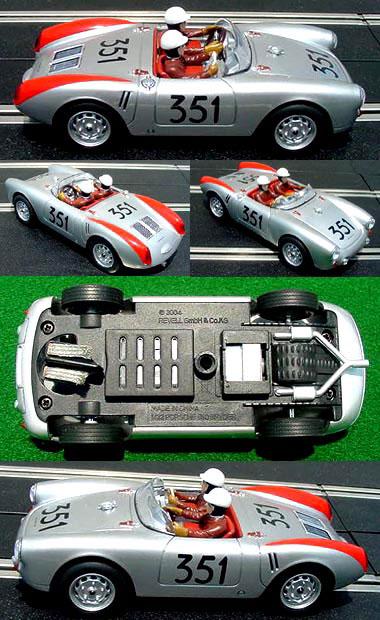 Revell 85-4886 Porsche 550 Spyder, Mille Miglia 1954