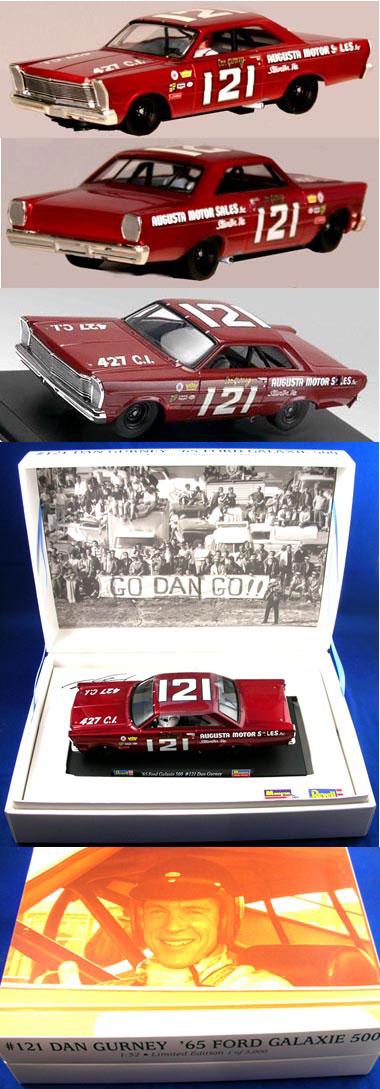Monogram 85-4894 1965 Ford NASCAR, Dan Gurney