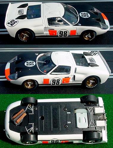 Fly 88247 Ford GT40 MkII, Daytona 1966 winner