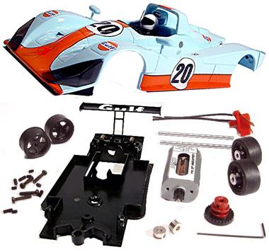 Fly 88350 Lola B98/10, Gulf, Fly Racing