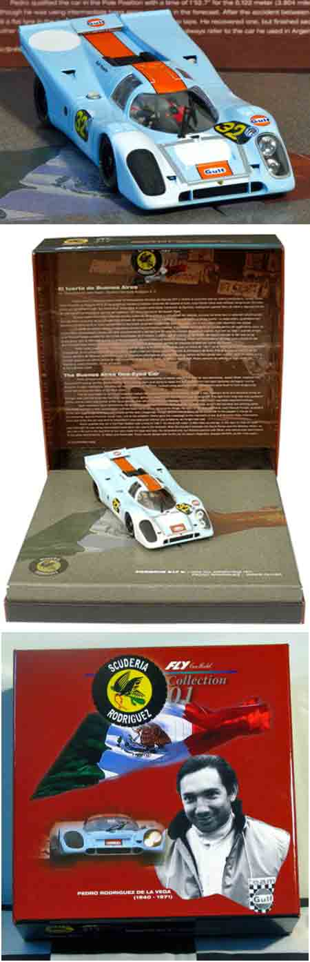 Fly 99113 Porsche 917, Gulf, in presentation box