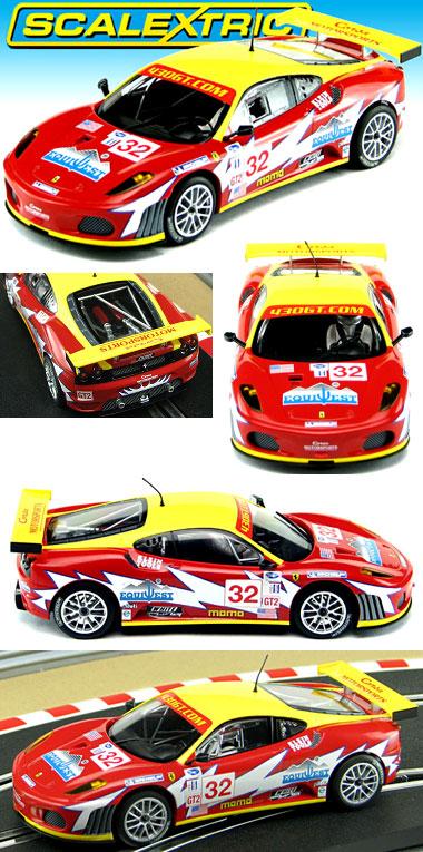 Scalextric C2902 Ferrari F430, Sebring 2007