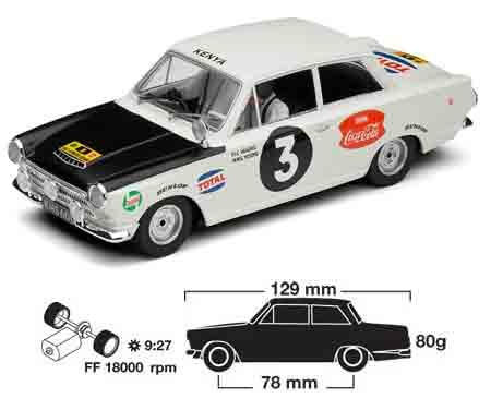 Scalextric C3096 Cortina