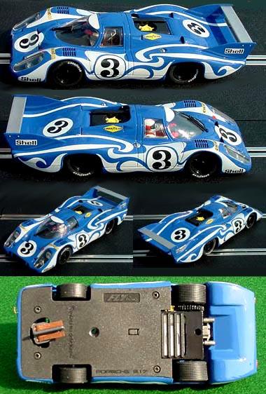"Fly A1404 Porsche 917 LH LeMans 1970 ""psychedelic"""