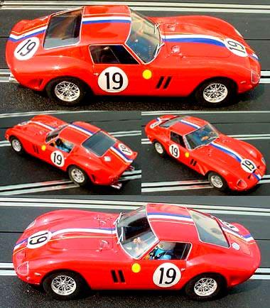 Fly A1803 Ferrari 250 GTO, LeMans 1962, Noblet / Guichet
