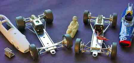 Beardog short wheelbase Formula One chassis