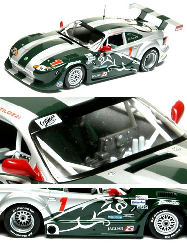 Scalextric C2711 Jaguar XKR Trans Am Paul Gentilozzi