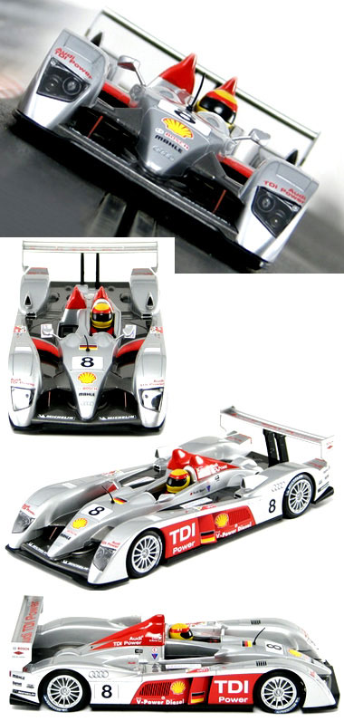 Scalextric C2809 Audi R10 2006 leMans winner