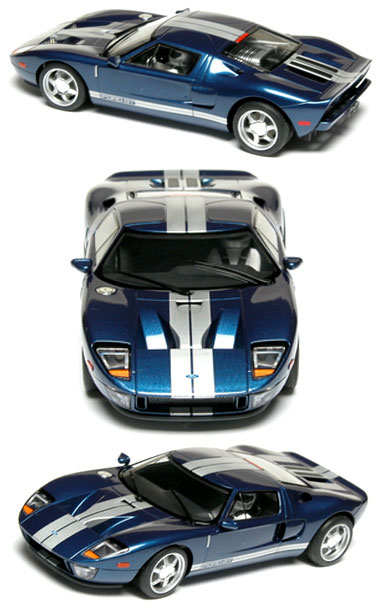 Scalextric C2823 Ford GT blue