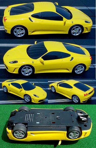 Scalextric C2873 Ferrari F430 drift car.