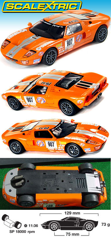 Scalextric C2882 Ford GT Stillen