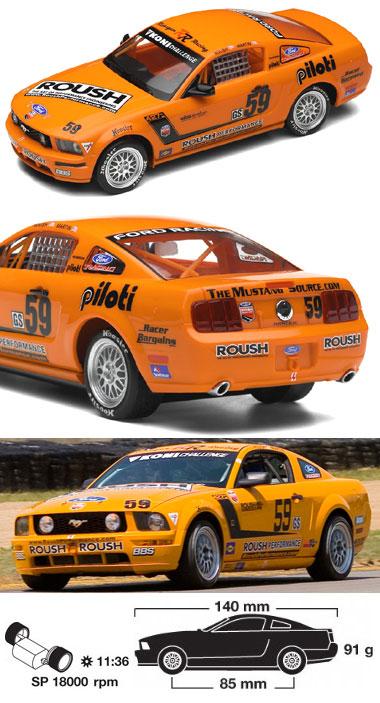 Scalextric C2888 Mustang GT, Jack Roush, Jr. 2007