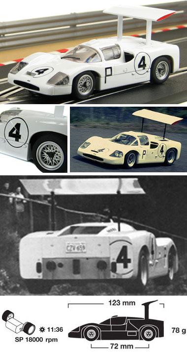 Scalextric C2916 Chaparral 2F, Nurburgring 1967