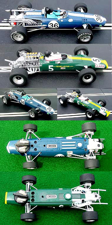Scalextric C2923A Lotus & Eagle 2-car set