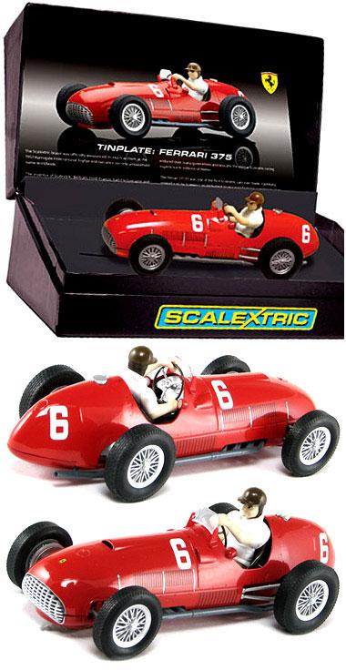 Scalextric C2928A Ferrari 375 F1 Tinplate