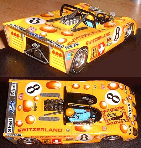 Proto Slot CB017P  Lola T280 BODY KIT, Le Mans 1974