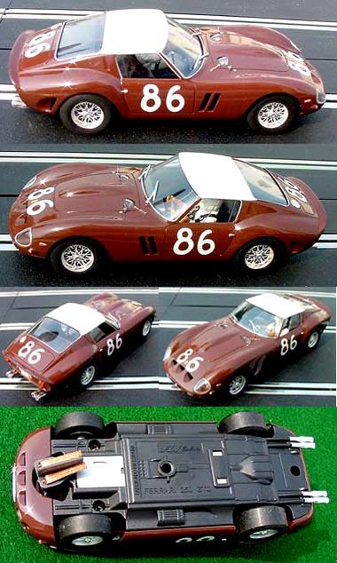 Fly E1801 Ferrari 250 GTO Targa Florio 1962, Ferraro / Scarlatti