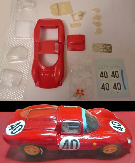 GMC13/1 Ferrari 166SP kit
