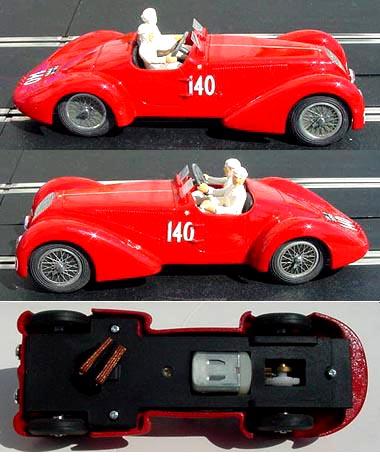 MMK 20 1938 Alfa Romeo 6C 2300B Touring Spyder