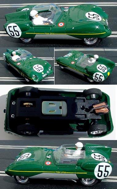 MMK 37 Lotus 11, LeMans 1959