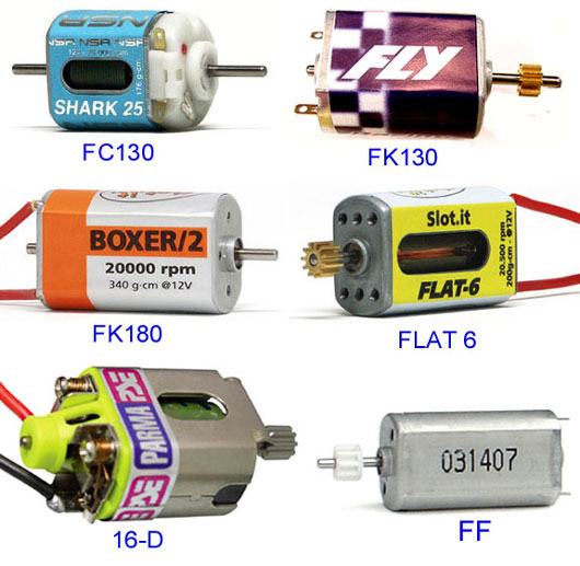 Guide to slot car motors