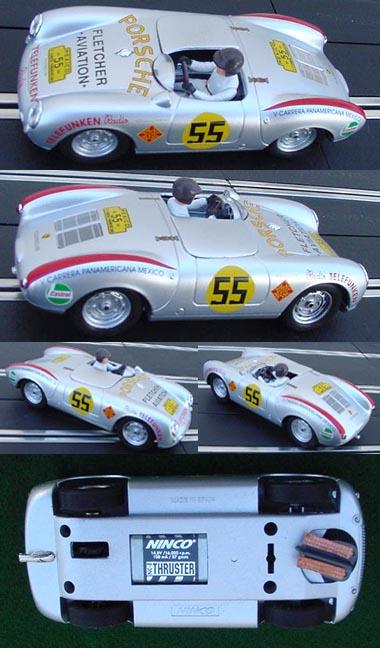 """Ninco 50476 Porsche 550 Spyder """"Panamericana"""""""