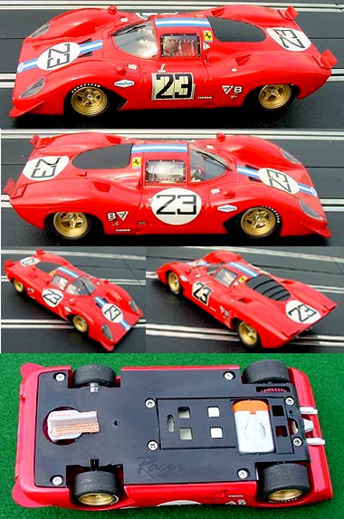 Racer RCR32 Ferrari 312P Daytona 1970