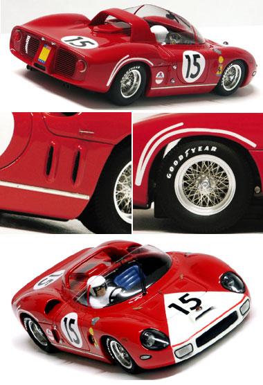 Racer RCR 44 Ferrari 330P, NART, LeMans 1964