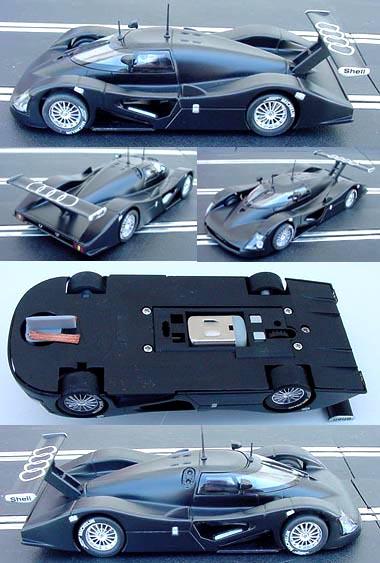Slot It SICA01C Audi R8C Snetterton rollout car '99