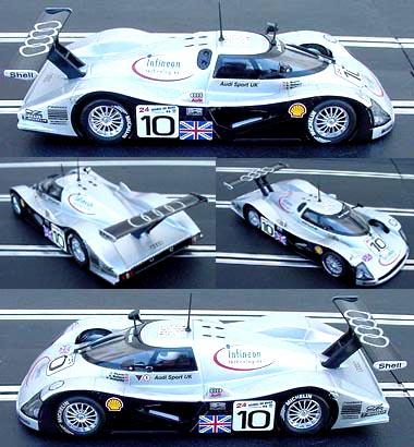 Slot It SICA01F Audi R8C #10 LeMans 1999
