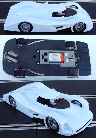 Slot It SICA12Z Audi R8C, new version, white kit