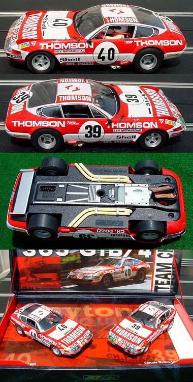 Fly TEAM09 Ferrari 365GTB/4 2-car set