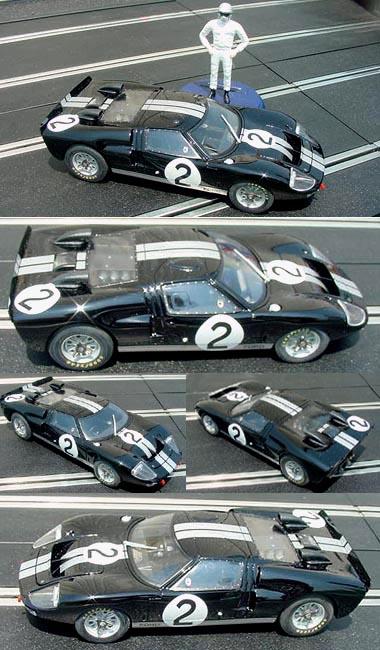Fly W05 Ford GT40MkII 1966 LeMans winner, Bruce McLaren